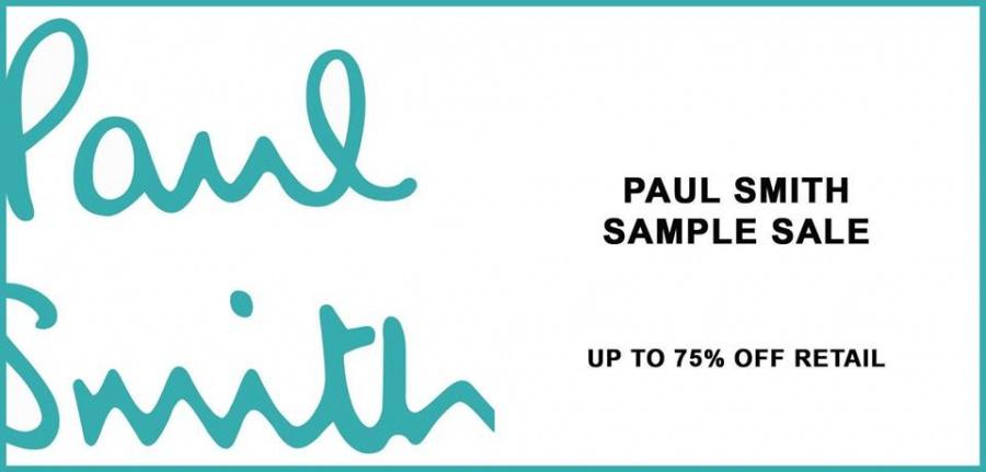 Paul Smith Sample Sale Sample Sale In New York