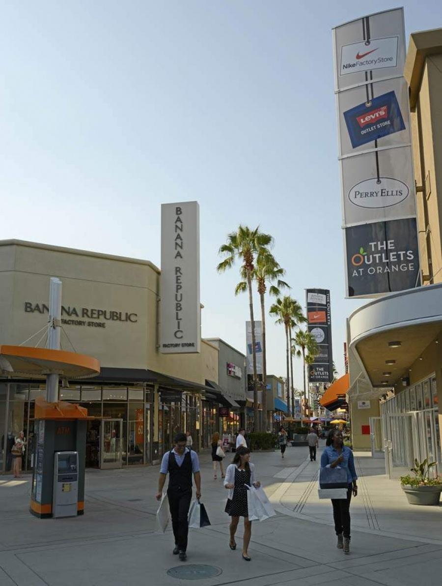 Outlets at Orange -- Outlet store in Orange